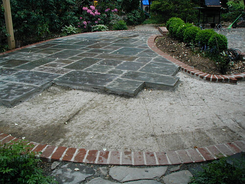Delightful I Recently Got An E Mail From A Reader Who Is Considering A Dry Laid,  Bluestone Patio Rather Than A Wet Laid One. For Clarity Iu0027ll State The  Obvious ...