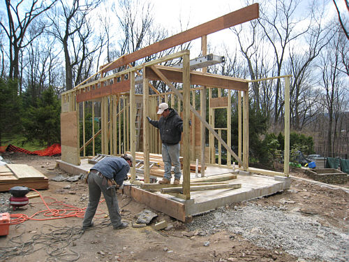 Cabana Framing And Early Construction Landscapeadvisor