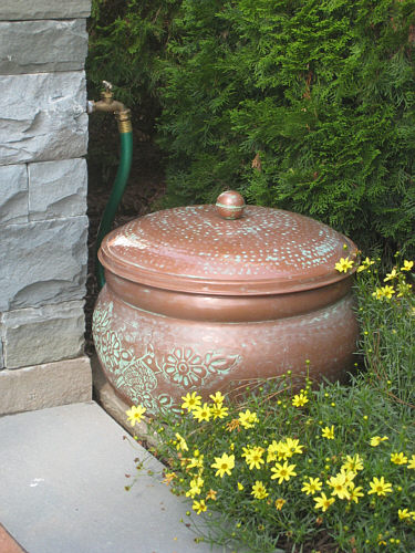 Hide The Garden Hose In A Beautiful Way LandscapeAdvisor